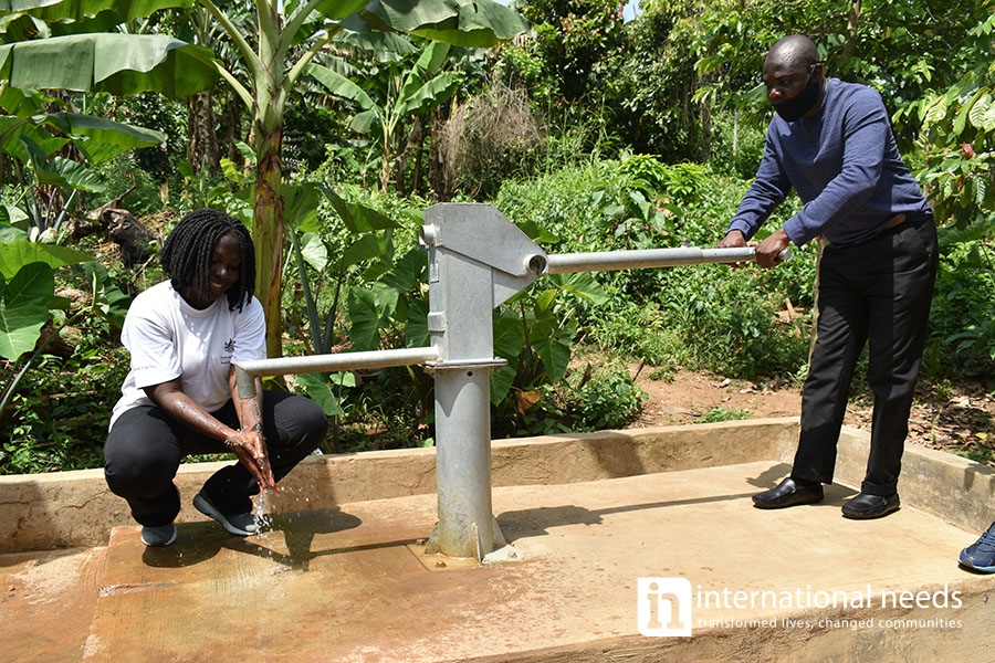 WATER TO NANANKOR COMMUNITY